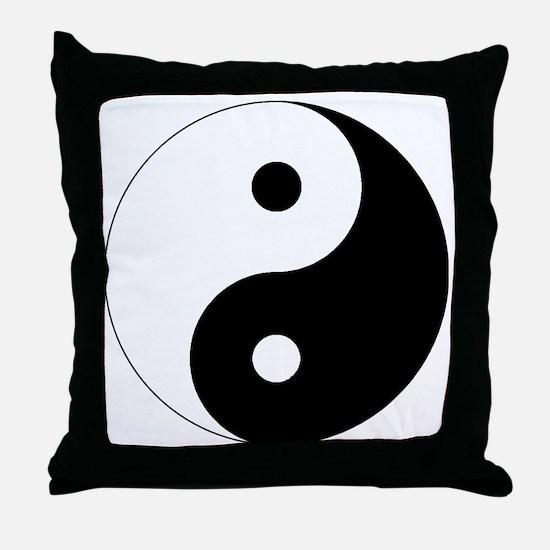 yinyanglightNew Throw Pillow