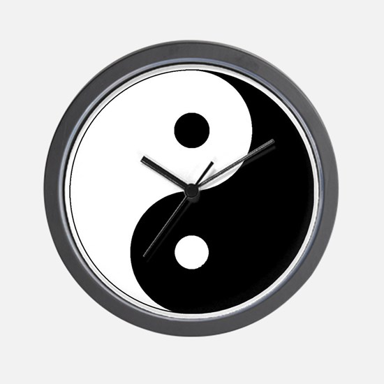 yinyanglightNew Wall Clock