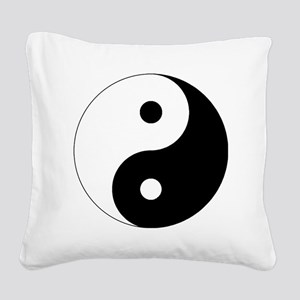 yinyanglightNew Square Canvas Pillow