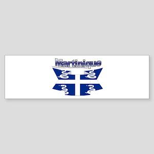 Snake flag ribbon Bumper Sticker