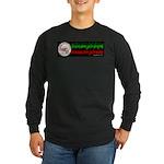 NSA Santa Clause Long Sleeve Dark T-Shirt