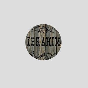 Ibrahim, Western Themed Mini Button