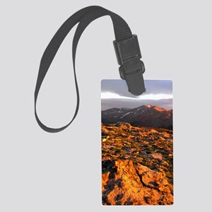Mount Massive Poster Large Luggage Tag