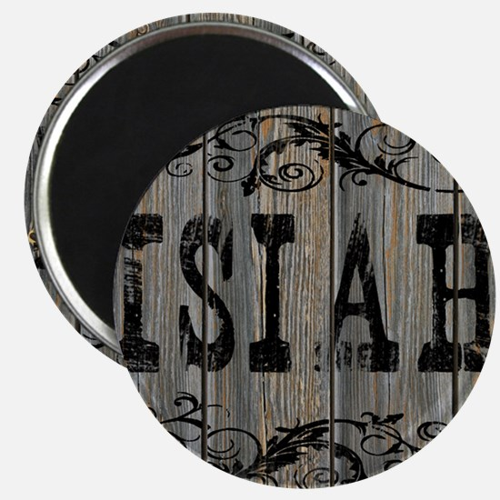 Isiah, Western Themed Magnet