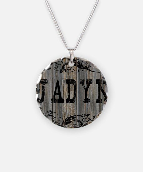 Jadyn, Western Themed Necklace Circle Charm