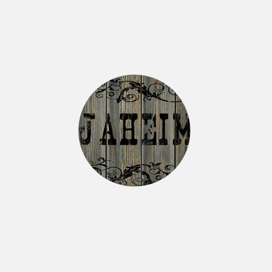 Jaheim, Western Themed Mini Button