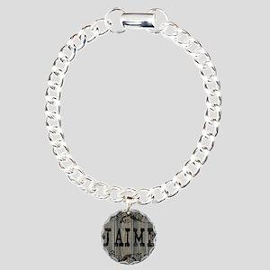 Jaime, Western Themed Charm Bracelet, One Charm
