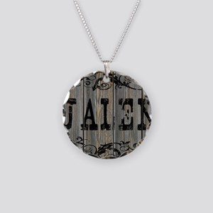 Jalen, Western Themed Necklace Circle Charm