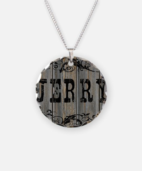 Jerry, Western Themed Necklace
