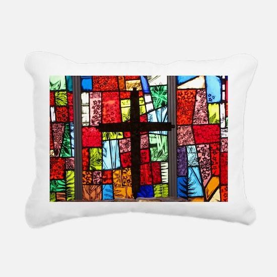 mouse-cross Rectangular Canvas Pillow