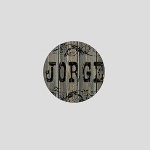 Jorge, Western Themed Mini Button