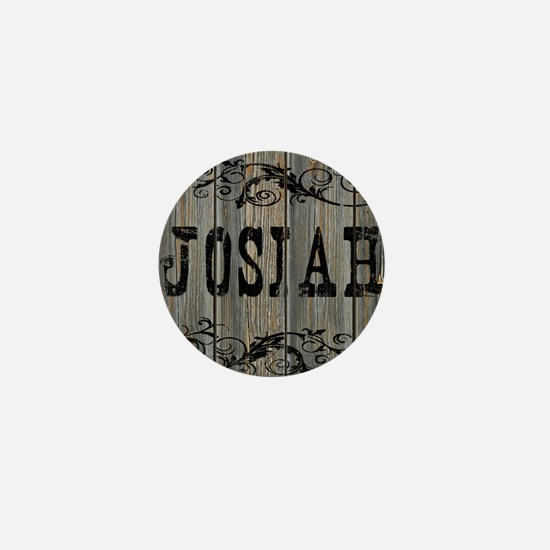 Josiah, Western Themed Mini Button