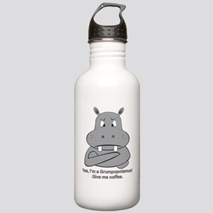 Grumpopotamus Coffee Stainless Water Bottle 1.0L
