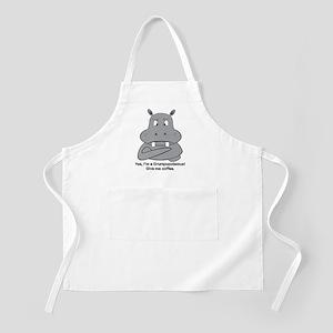 Grumpopotamus Coffee Apron