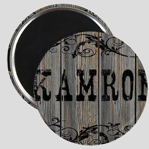 Kamron, Western Themed Magnet