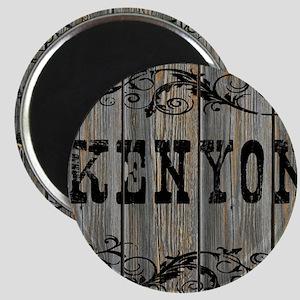 Kenyon, Western Themed Magnet
