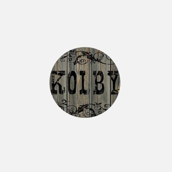 Kolby, Western Themed Mini Button