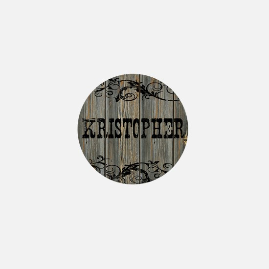 Kristopher, Western Themed Mini Button