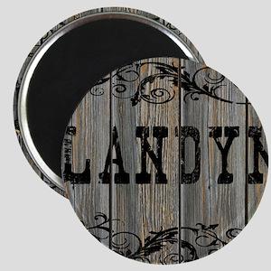 Landyn, Western Themed Magnet