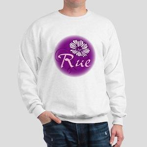 Remember Rue Purple Sweatshirt