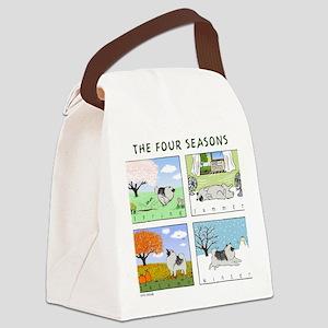 thefourseasonsZ Canvas Lunch Bag