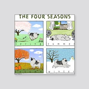 "thefourseasonsZ Square Sticker 3"" x 3"""
