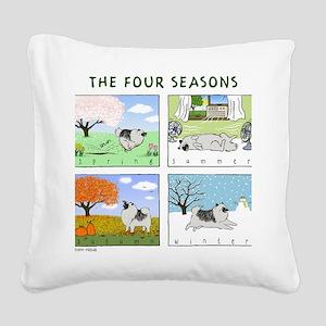 thefourseasonsZ Square Canvas Pillow