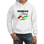 Polymer Clay Artist Hooded Sweatshirt