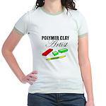 Polymer Clay Artist Jr. Ringer T-Shirt