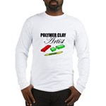 Polymer Clay Artist Long Sleeve T-Shirt