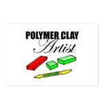Polymer Clay Artist Postcards (Package of 8)