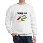 Polymer Clay Artist Sweatshirt