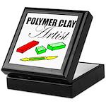 Polymer Clay Artist Keepsake Box