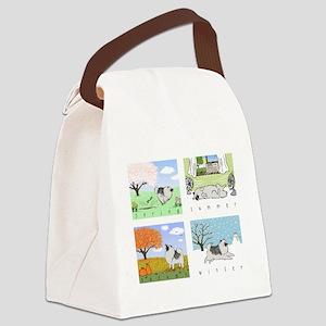 fourseasons3blackshirt Canvas Lunch Bag