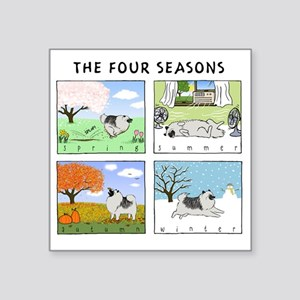 "4seasonsnitetee Square Sticker 3"" x 3"""