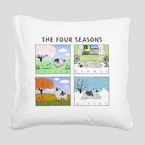4seasonsnitetee Square Canvas Pillow