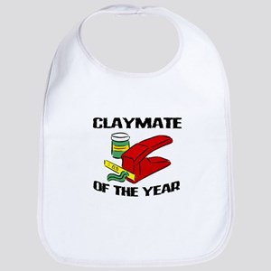 Clay - Claymate of the Year Bib