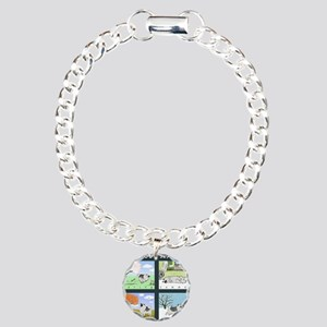 4seasonskindle Charm Bracelet, One Charm