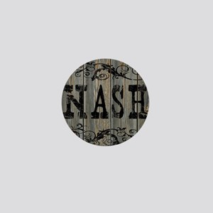 Nash, Western Themed Mini Button
