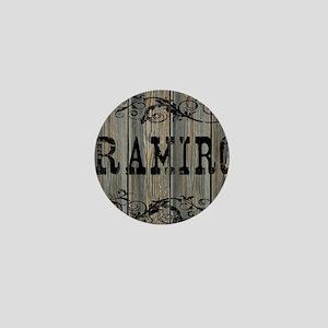Ramiro, Western Themed Mini Button