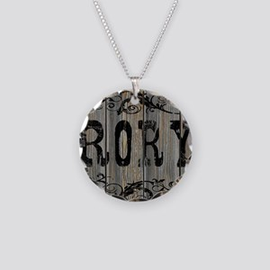 Rory, Western Themed Necklace Circle Charm
