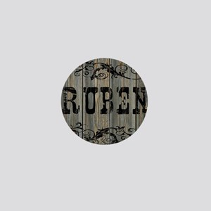 Ruben, Western Themed Mini Button