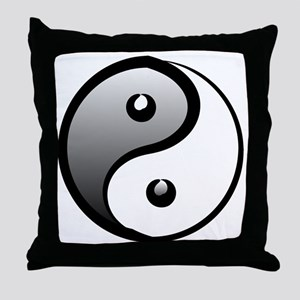 yingyang1 Throw Pillow