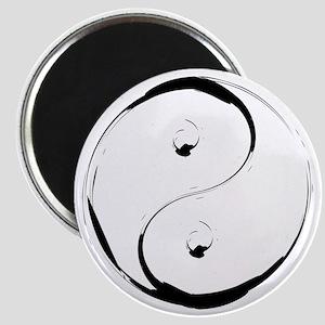 YingyangBrush Magnet