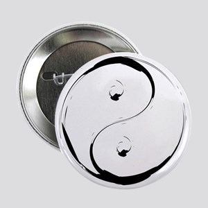 """YingyangBrush 2.25"""" Button"""