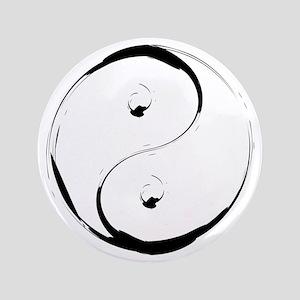 """YingyangBrush 3.5"""" Button"""