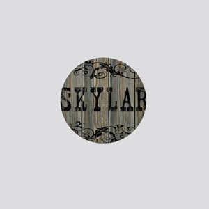Skylar, Western Themed Mini Button