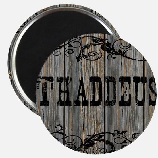 Thaddeus, Western Themed Magnet