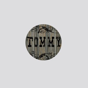 Tommy, Western Themed Mini Button
