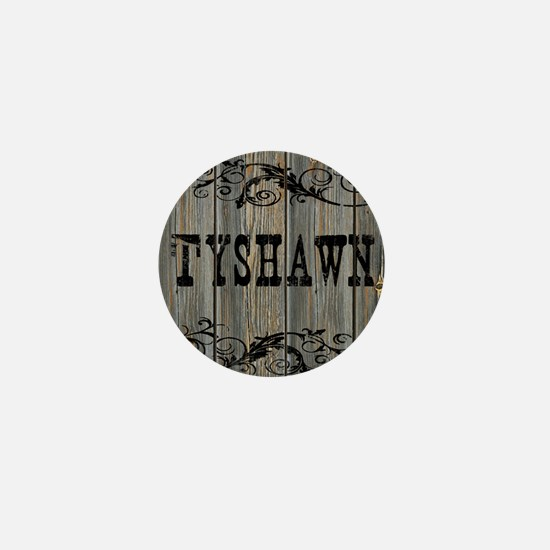 Tyshawn, Western Themed Mini Button